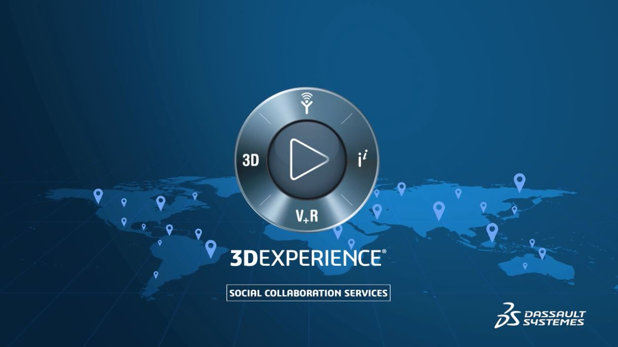 VS – 3DEXPERIENCE Social collaboration services